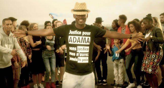 Pin On Justice Pour Adama T Shirt