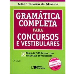Livro - Gramática Completa para Concursos e Vestibulares - Nova Ortografia