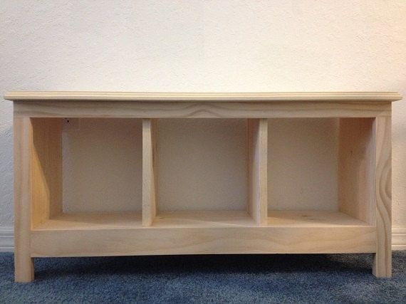 36 Unfinished Entryway Hallway Mudroom Bench Shoe Cubby Storage Organizer Entertainment Cen Hallway Storage Bench Shoe Cubby Storage Furniture