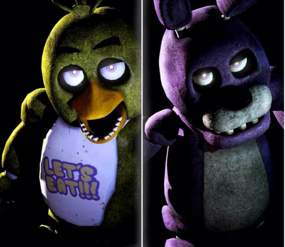 Chica And Bonnie Five Nights At Freddy S Five Night Freddy S