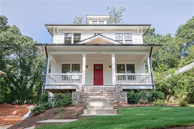 224 Rockyford Road Ne Atlanta Ga 30317 6061499 Re Max Of Georgia House Styles Architecture Home