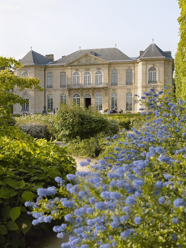 Vue du jardin du musée Rodin
