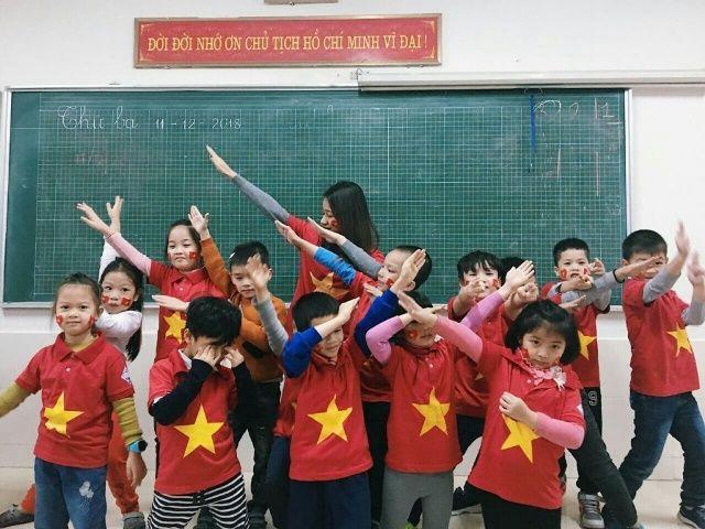 Áo cờ Việt Nam trường tiểu học Khánh Hà - Hình 3