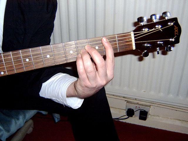 Free Guitar Lesson Online - B Major Chord   Electric Guitar ...