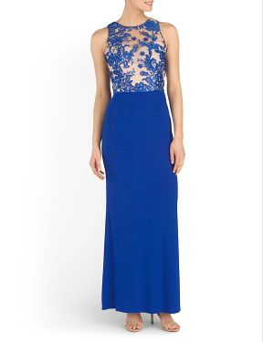 50f0591eea9 TJ Maxx formal- Cut Out Back Long Gown