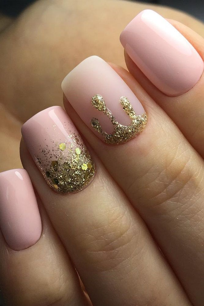 57 Special Summer Nail Designs For Exceptional Look Pink Nail Designs Simple Nails Nail Art
