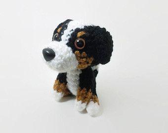 Knitted Dog Stuffed Dog Hand-knit Puppy Amigurumi Dog Hand-knit ... | 270x340