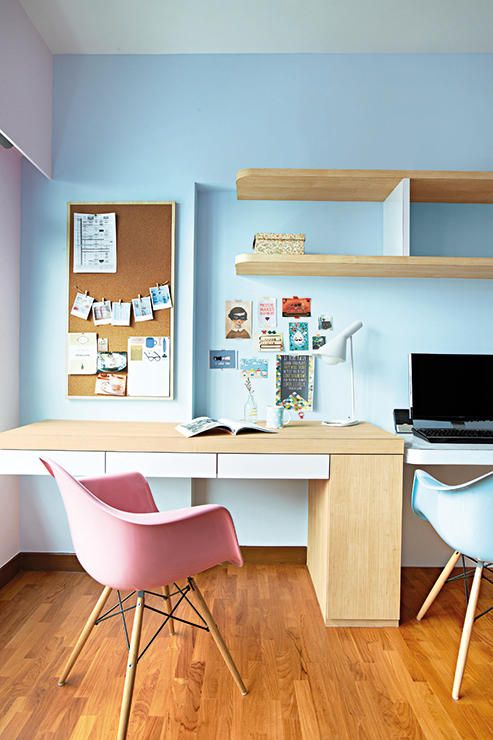 3 Room Hdb Interior Design Ideas: Where To Put A Study In Your HDB Flat