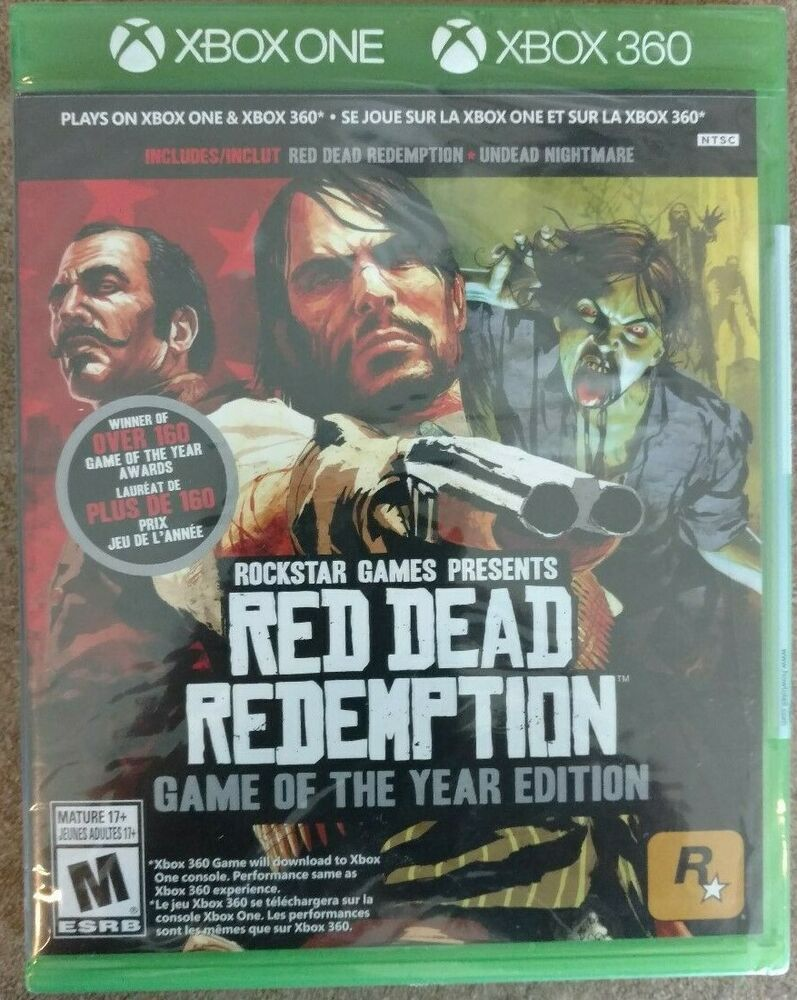 Red Dead Redemption Game Of The Year Edition Goty Xbox One