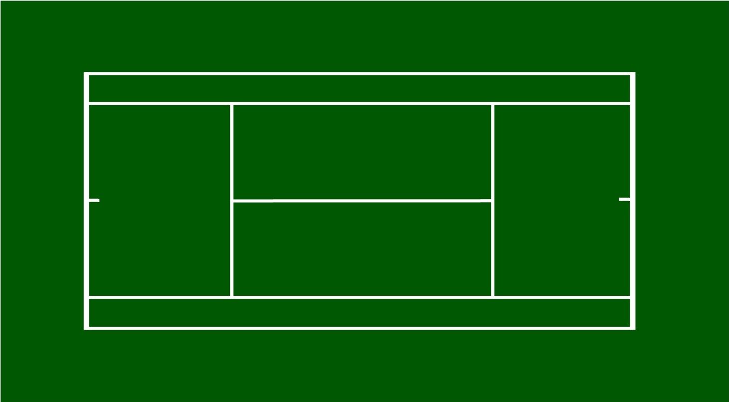 Tennis Court Dimensions Layout Diagram All Court Dimensions