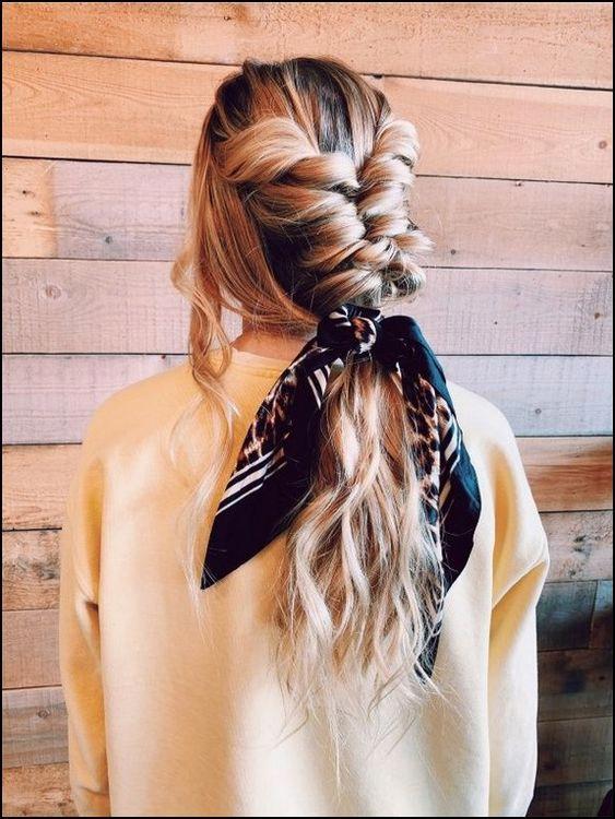 Photo of – – #braidedhairstyle #haircolorhairstyles #hairstyleformediumlengthhair #hair …
