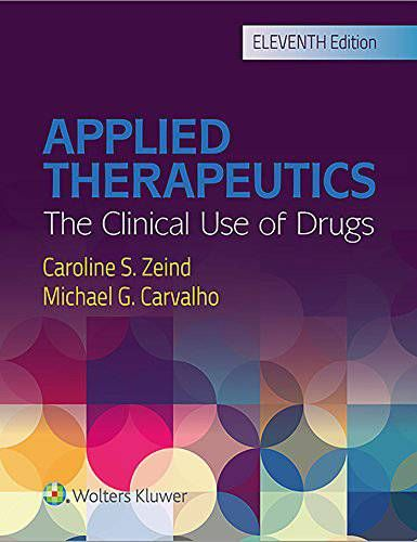 Ebook Applied Therapeutics 11th Edition Free Download Pdf Medical
