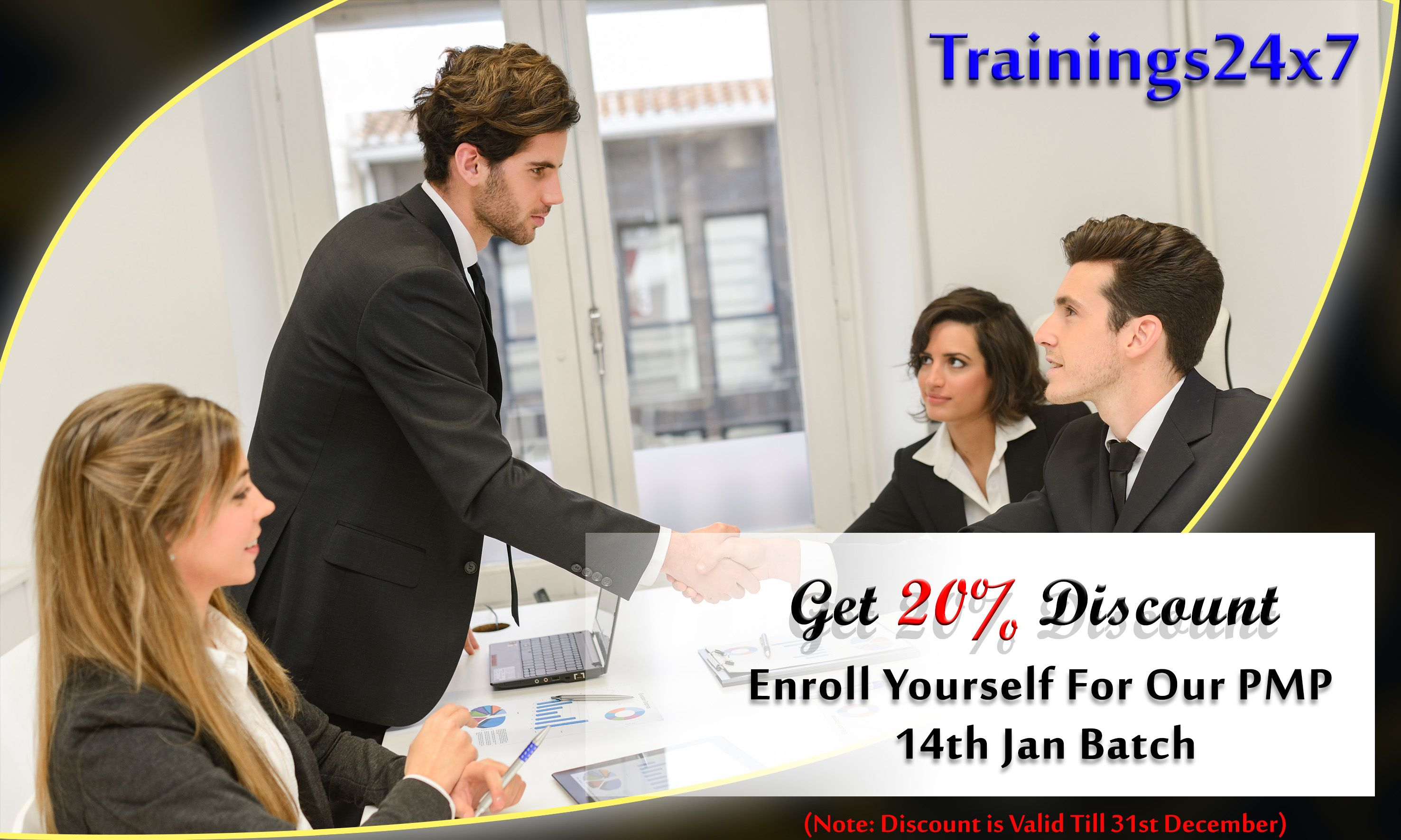 Trainings24x7 is providing 20 discount till 31st dec enroll your project management pmp classroom training at 301 preet vihar new delhi offers 35 pdus certificate 6 simulations mobile apps pass guarantee 1betcityfo Images
