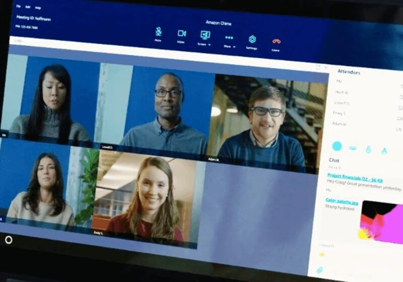 Amazon takes aim at Skype, WebEx with its own video