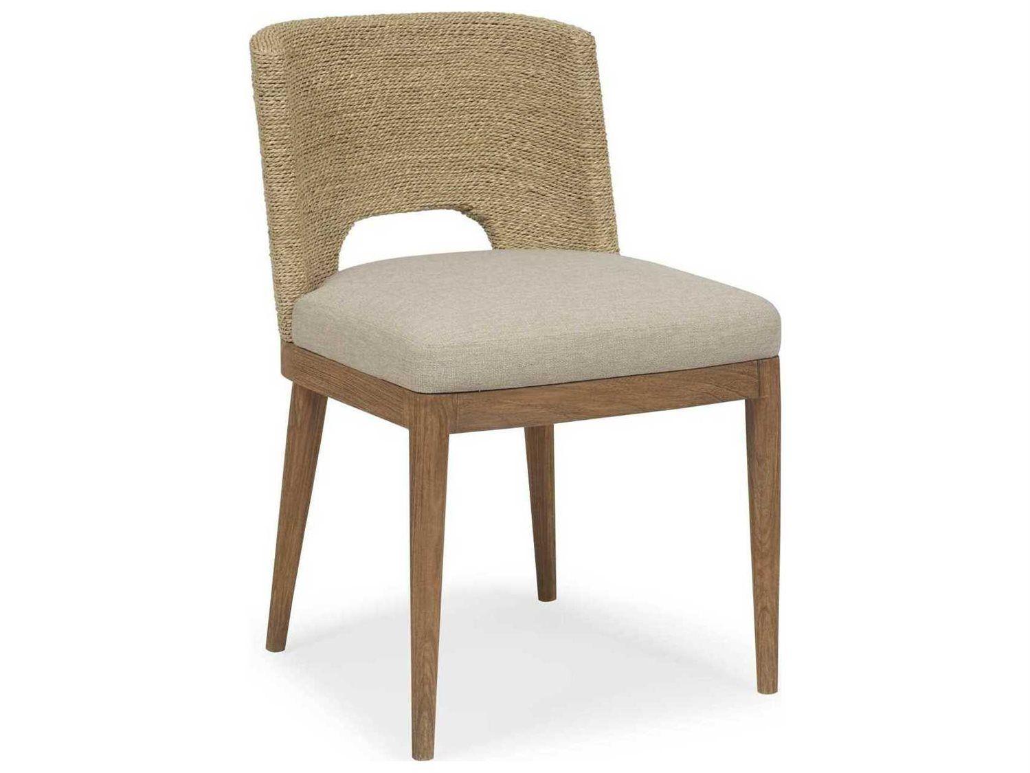 Brownstone Furniture Amalfi Beach Praline Side Dining Chair In