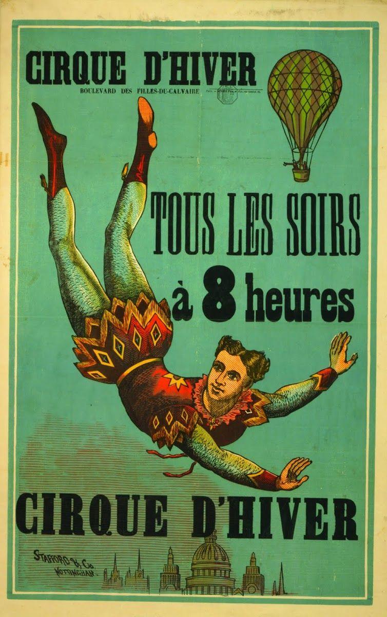 Cirque D?Hiver ... Tous Les Soirs, A 8 Heures / Stafford & Co., Nottingham.