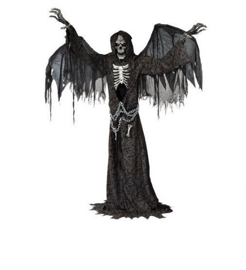 Halloween Lifesize Prop Creepy Scary Animatronic Indoor Haunted