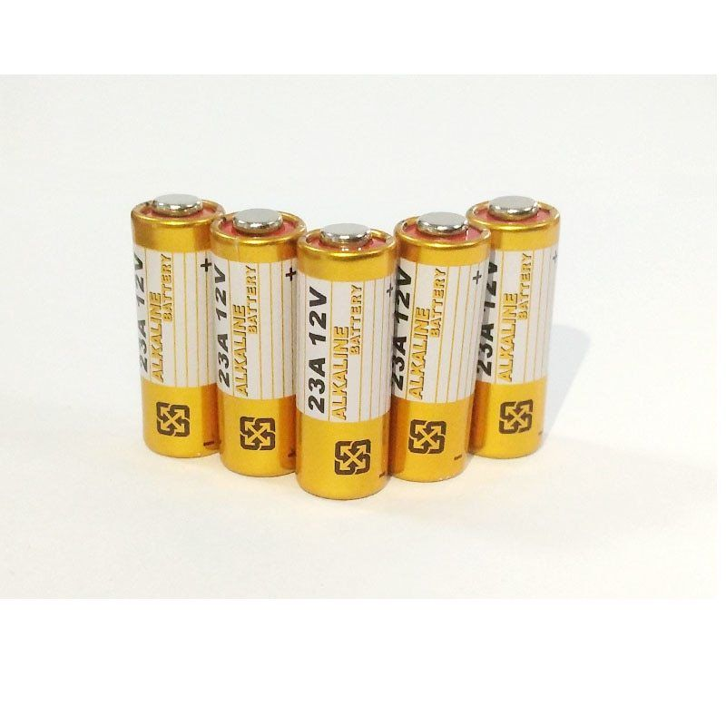 Saleaman 5pcs Alkaline Battery 12v 23a Battery 12v 27a 23a 12 V 21 23 A23 E23a Mn21 Rc Control Remote Controller Battery Rc Part
