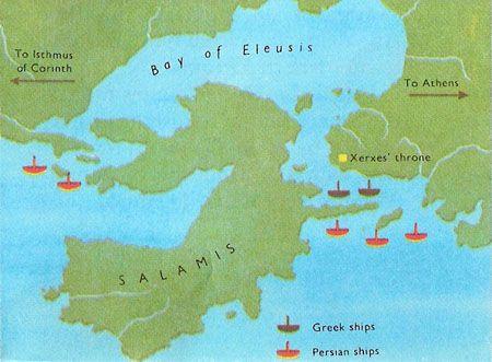 Battle Of Salamis Fabbri Illustrated Encyclopedias Pinterest