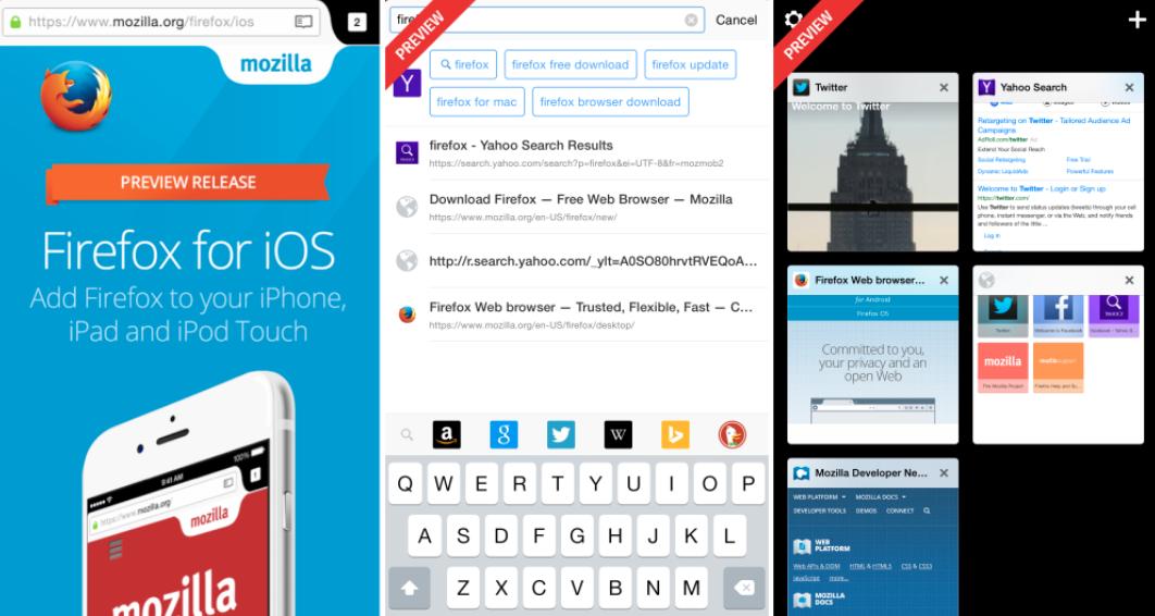 Firefox pentru iPhone si iPad a fost actualizat