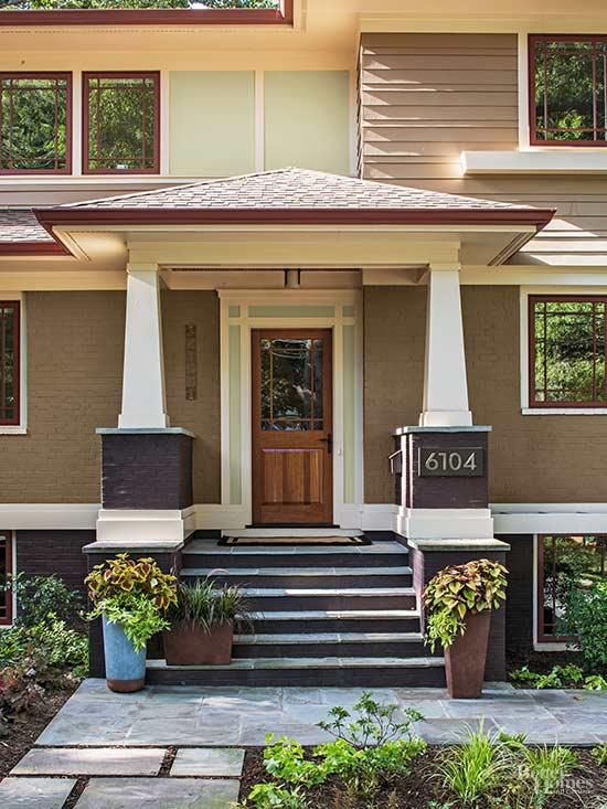Prairie Home Curb Appeal Makeover In 2019 Exterior