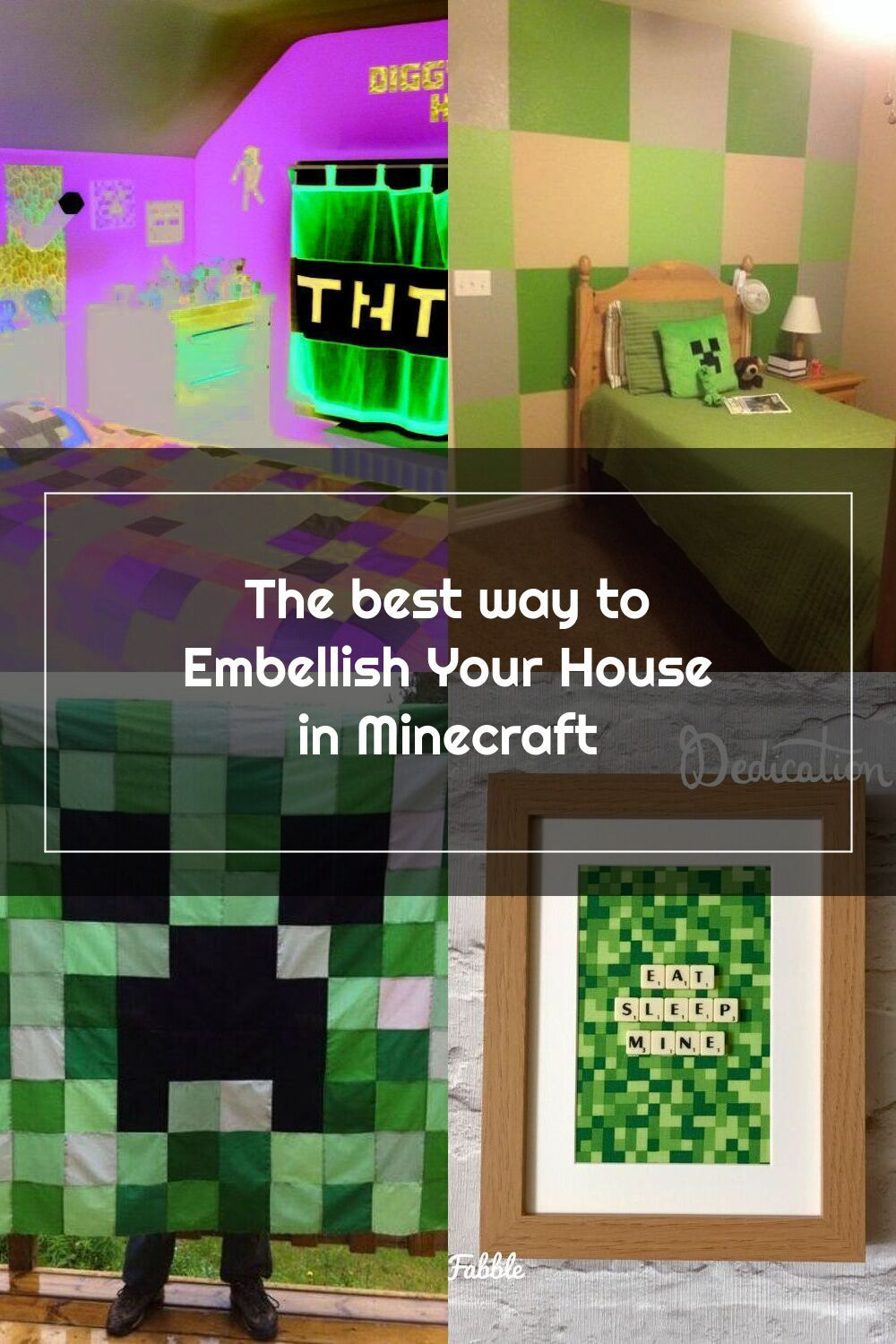 Pretty bedroom ideas in minecraft pe that will blow your ...