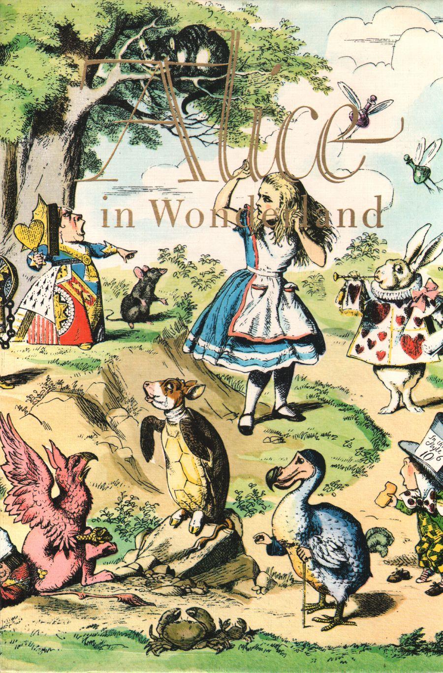 Alice in wonderland cartoon characters-5134