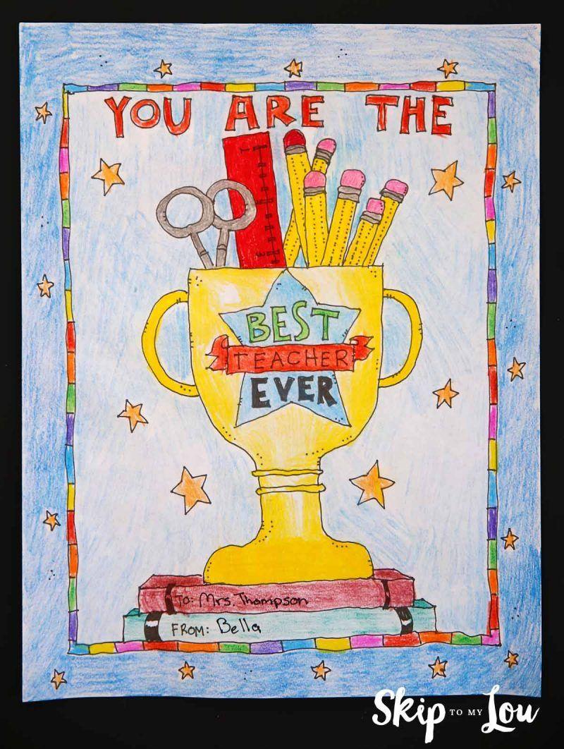 Best Teacher Coloring Page Best Teacher Ever Best Teacher