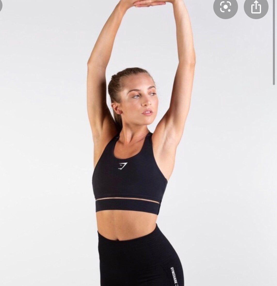 Black gymshark embody sports bra Sports bra, Bra, Gymshark