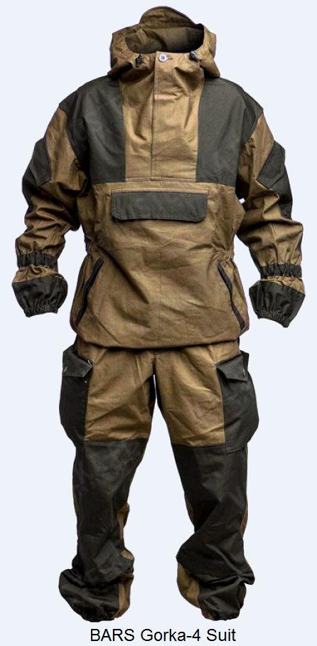 Bars Gorka 4 Suit Camping Gear Tactical Clothing