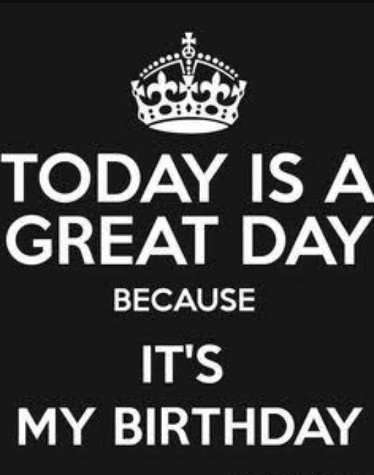 It S My Birthday With Images Birthday Quotes For Me