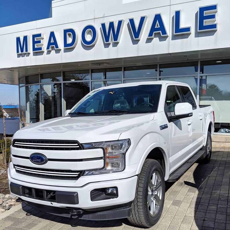 White Blue Is An Evergreen Combination Isn T It We Are The No 1 F150 Dealership Of Mississauga Ford F150 White Lariat Xlt Ford F150 Lariat Ford F150