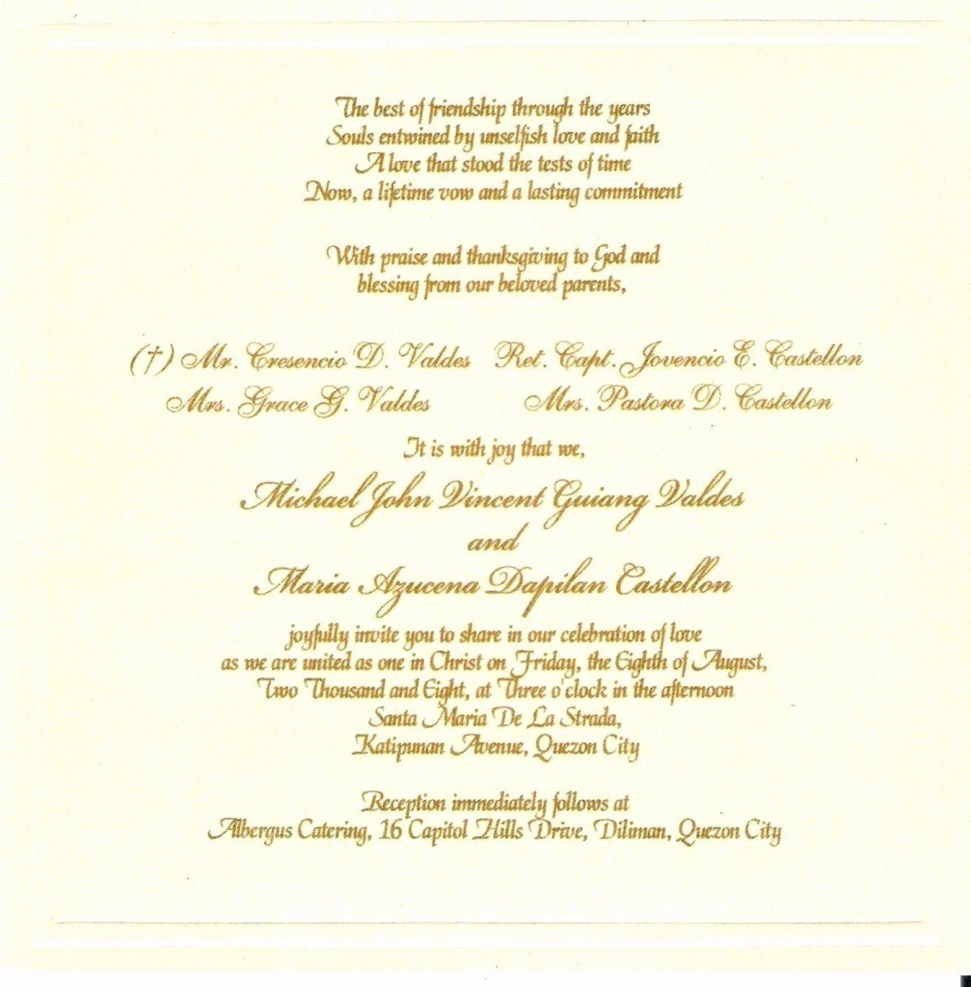 50th Wedding Anniversary Gift Etiquette: Christian Wedding Cards New 010 Template Ideas Wedding Inv