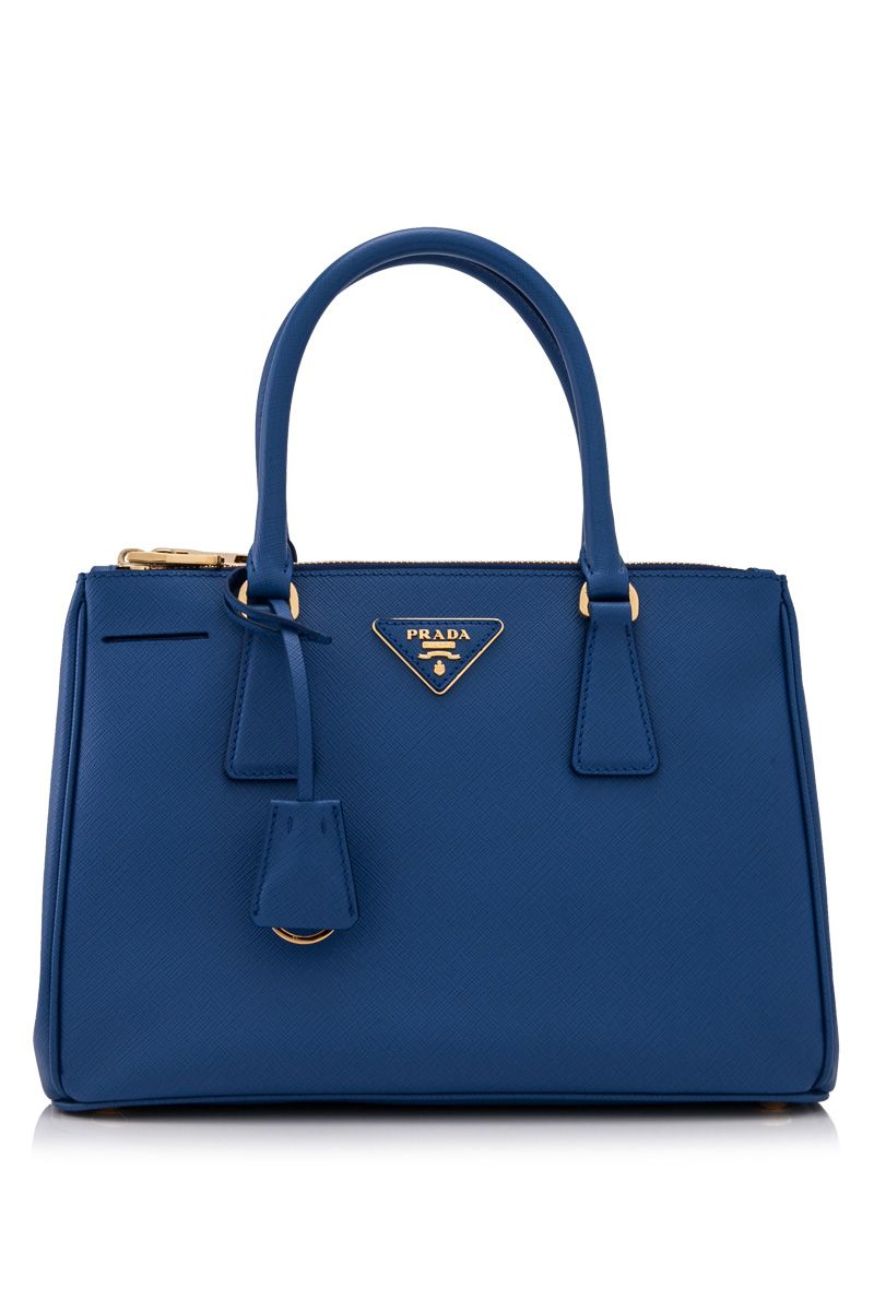 f865923584a01 PRADA - Prada Saffiano Lux Galleria Shopping Bag