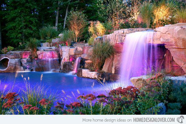 15 Pool Landscape Design Ideas Home Design Lover Pool Landscape Design Swimming Pools Backyard Backyard Pool
