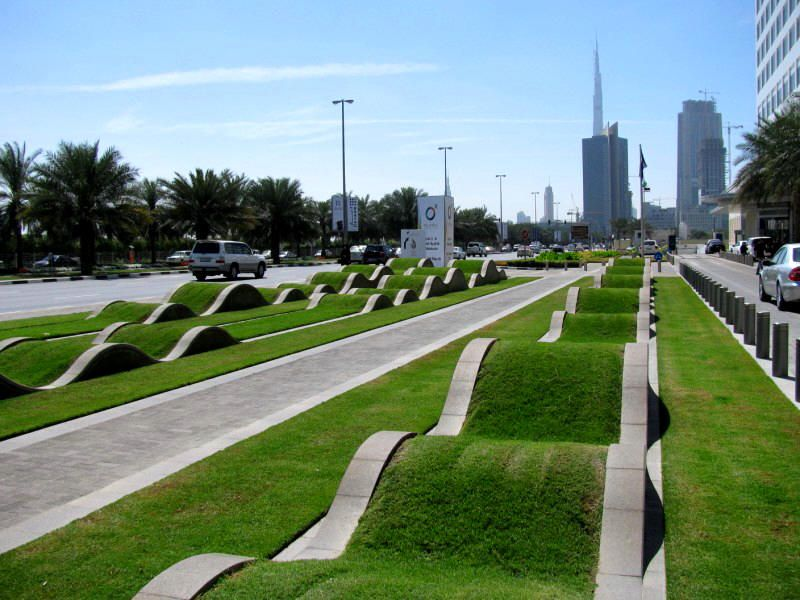 Grass Wave Dubai Dubai Architecture Design Pinterest