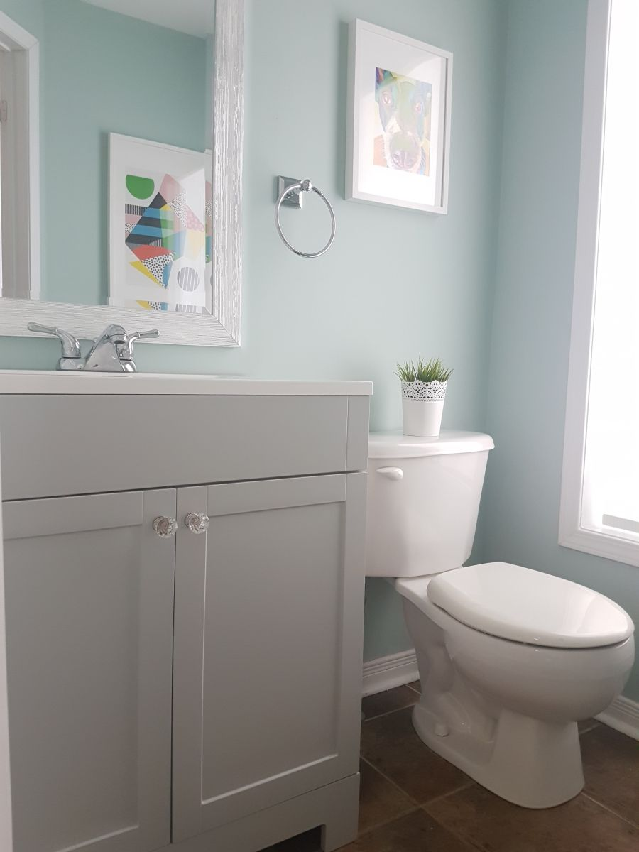 5 Inexpensive Ways To Update Your Powder Room From Boring