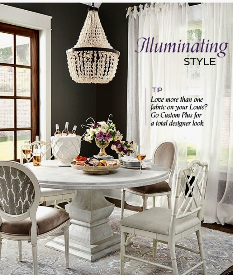 Neutral Dining Rooms Pedestal Dining Table Table