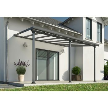 Palram Feria 10 Ft X 18 Ft Patio Cover Back Yard