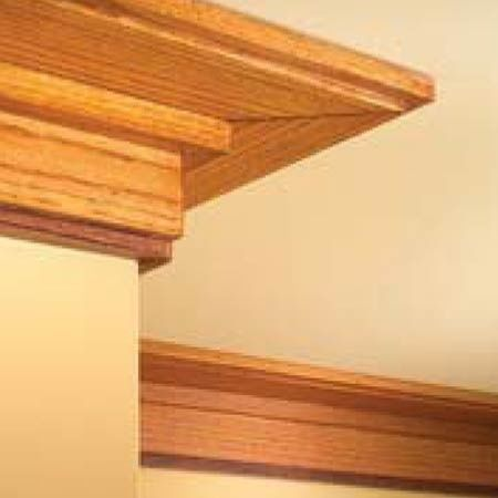 Craftsman crown moldings bing images craftsman for Mission style moulding