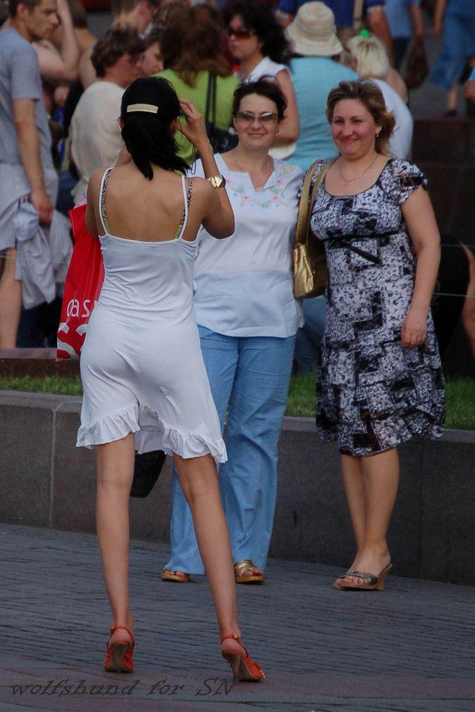 прозрачное белое платьице. Фото № 4. Anonymous | Girls ...
