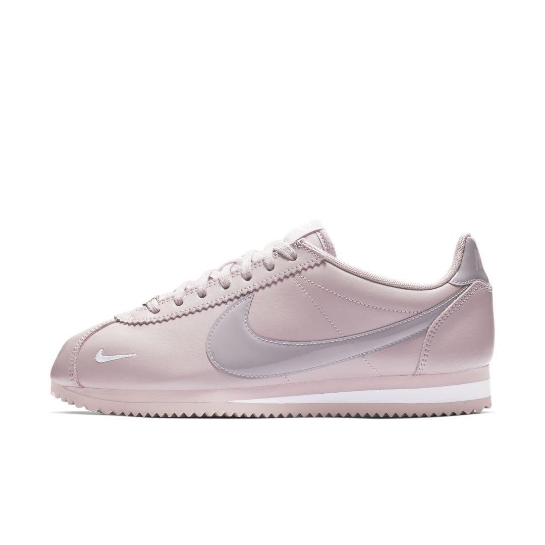 newest c62a2 553a2 Nike Classic Cortez Premium Women s Shoe Size 11.5 (Plum Chalk)