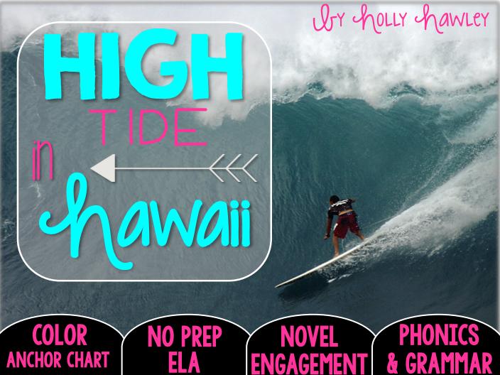 High Tide In Hawaii No Prep Ela Magic Tree House Grammar