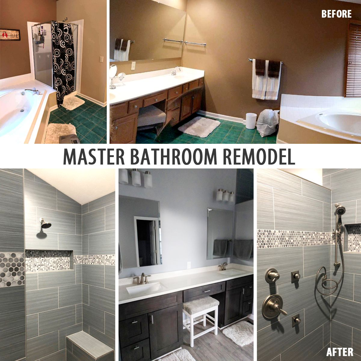 Projects Bathrooms Remodel Bathroom Remodel Master Remodel