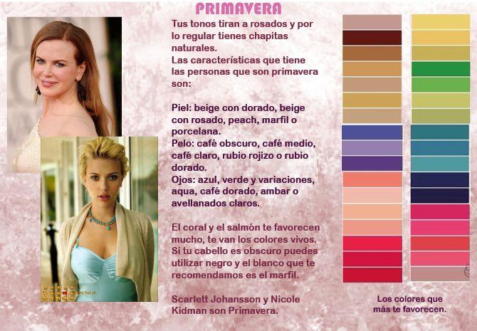 Color de pelo para pieles frias