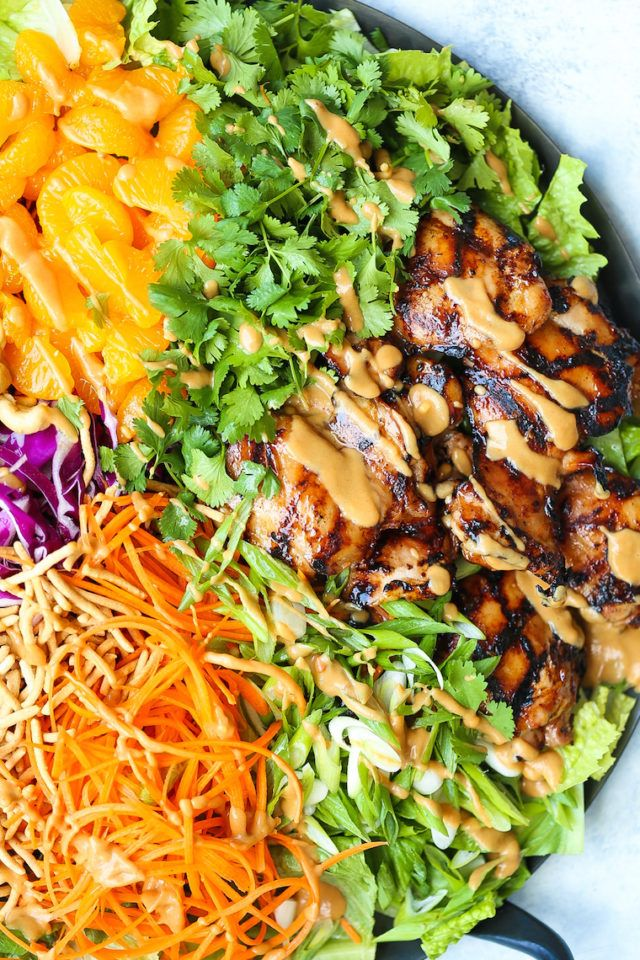 Asian Chicken Salad - Damn Delicious