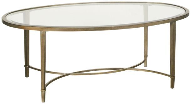 magnussen copia oval cocktail table in 2019 ottomans coffee tables rh pinterest com