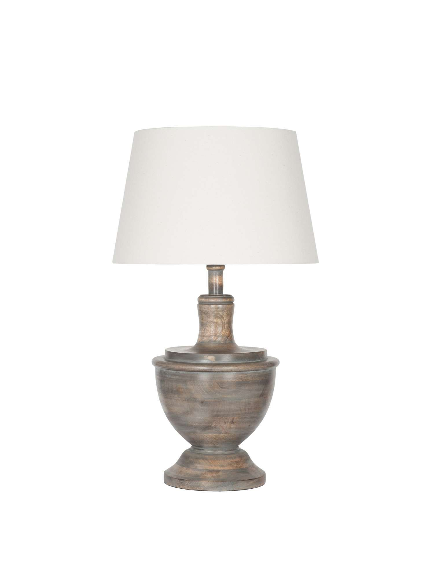Junipa Bayu Wood Table Lamp House Of Fraser