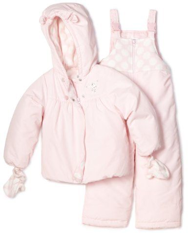 70ea18a95f60 Carter s Girl s 2-6x Heavyweight Snowsuit  Amazon.com  Clothing ...