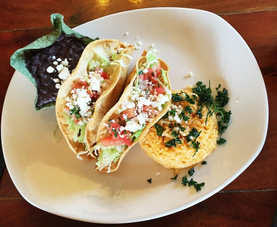 We love TACO TUESDAY, do you?! All crispy tacos (chicken or beef) on Tuesday's at our downtown location are only $2! Come get some tacos!